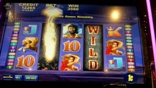 Aristocrat Technologies - Thunder King Slot Bonuses