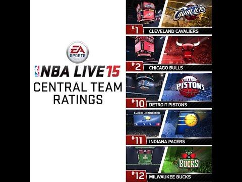 NBA LIVE 15 - Central Division