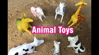 Surprise Animals Toys | Animal Toys Burn in Sand Animal Toys For Kids | Toys Play