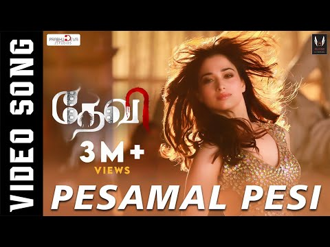 Pesamal Pesi Parthen | Official Video Song | Prabhudeva, Tamannaah, Amy Jackson | Vishal Mishra