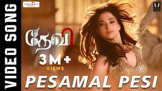 Pesamal Pesi Parthen  Official Video Song  Prabhudeva, Tamannaah, Amy Jackson  Vishal Mishra
