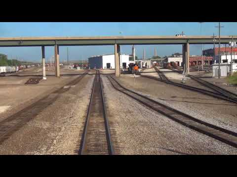 Southwest Chief - Leaving Topeka, KS.  & Through Kansas City, MO. - 2016
