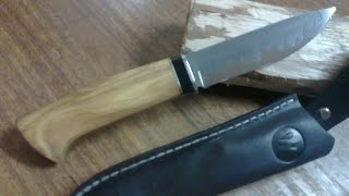 Нож из мехпилы (HSS).