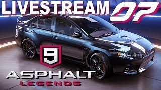 Asphalt 9 Legends - My Career / Multi Player Part 5 -  Live Stream  - HD 1080p PC Gameplay