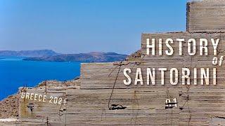 Destination Santorini,Greece!History of Santorini ultra HD 01!