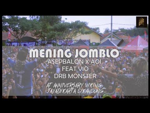 Asep Balon x Aoi - Mening Jomblo Live Perform Aniversari Viking Jayadikarta