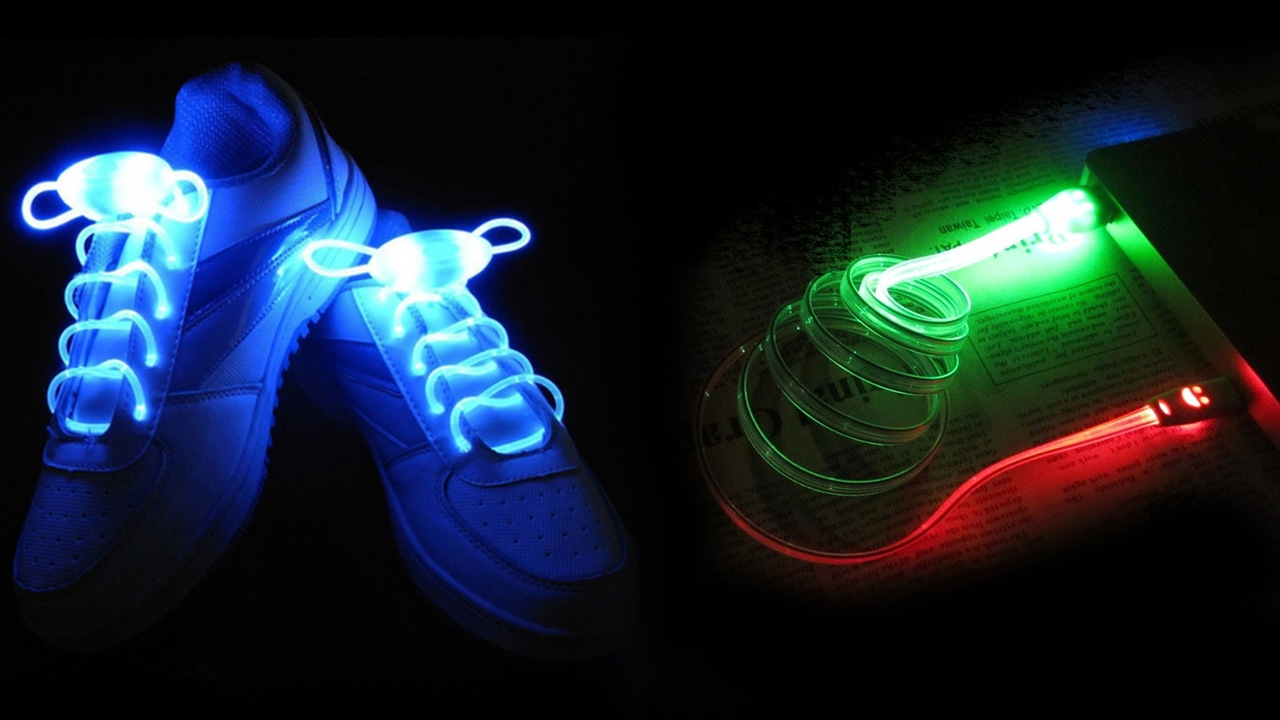 Светящиеся шнурки инструкция