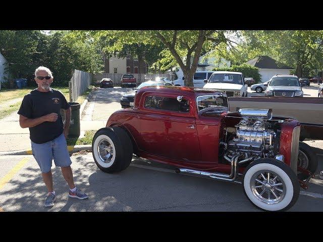 1932 Ford - Morris Cruise Nights - Morris Car Show - 4K