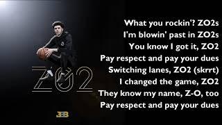Скачать Lonzo Ball Zo2 OFFICIAL LYRICS