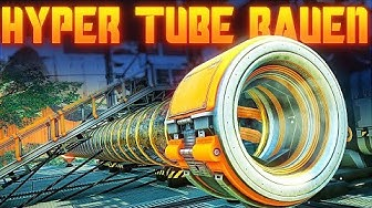 SATISFACTORY HYPER TUBE BAUEN UPDATE 3 Satisfactory Deutsch German Gameplay