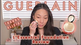 GUERLAIN L'Essentiel Foundation - Wear Test and Collab with Kinkysweat!