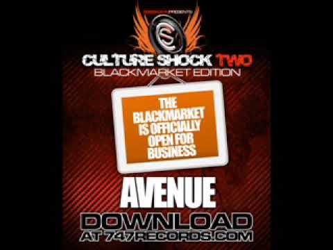 LOMATICC - AVENUE Culture Shock 2 Black Market !!!BRAND NEW SINGLE!!!!