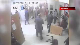 Mersin'de veliler okulu bastı...