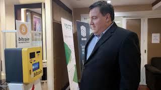 Bitcoin ATM machine in Bangkok