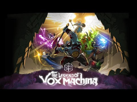 The Legend of Vox Machina Kickstarter is LIVE!