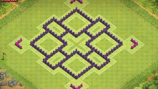 Clash Of Clans - Best Town Hall 7 Farming Base (town hall 7 farming ) !! Speed Build 2014 !