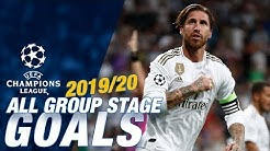 Champions League 2019/20 | ALL GROUP STAGE GOALS | Real Madrid