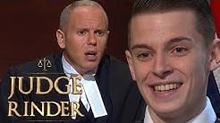 Judge Rinder Left Speechless by Man's 'Adult Webcam' Stories | Judge Rinder