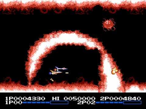 Life Force/Salamander 2 player Netplay NES