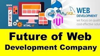 scope of web development in india   future of web development company