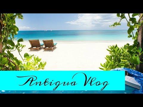 Antigua Beach Vacation Vlog