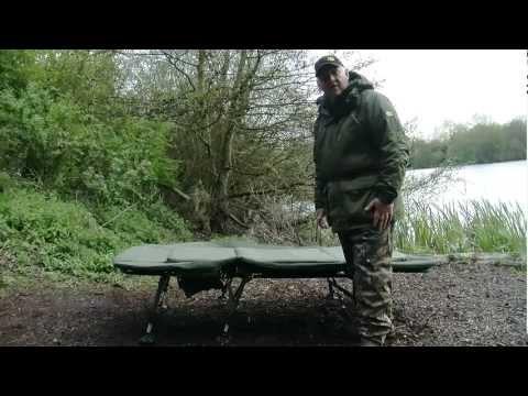 JRC Extreme Three Leg Bedchair - Carp Fishing Bed Chair Product Demo
