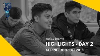 MKA NEWS - Jamia Spring Retreat 2018 - Day 2 Highlights