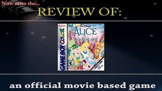 Movies to Video Games Review - Alice in Wonderland (GBC)