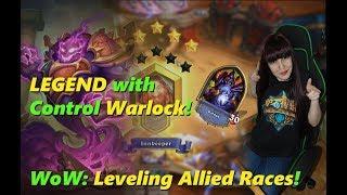 Legend with Control Warlock! WoW: Leveling Void Elf Warlock (lvl 63)