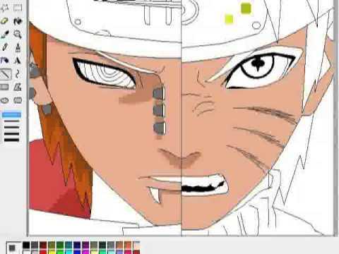 Как рисовать аниме (How to draw the anime) Naruto