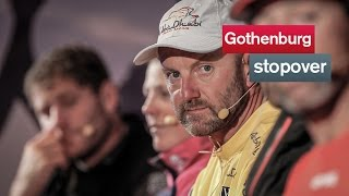Gothenburg arrivals press conference | Volvo Ocean Race 2014-15