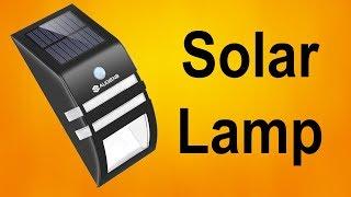 Огляд світильники на сонячних батареях з датчиком руху
