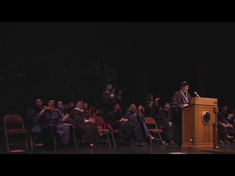 University of Texas Graduate School Spring 2017 Convocation - Masters