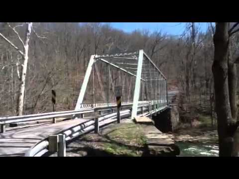 Abandoned Historic Culbertson grist mill & bridge ...