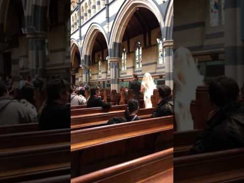 St. Paul's cathedral wedding