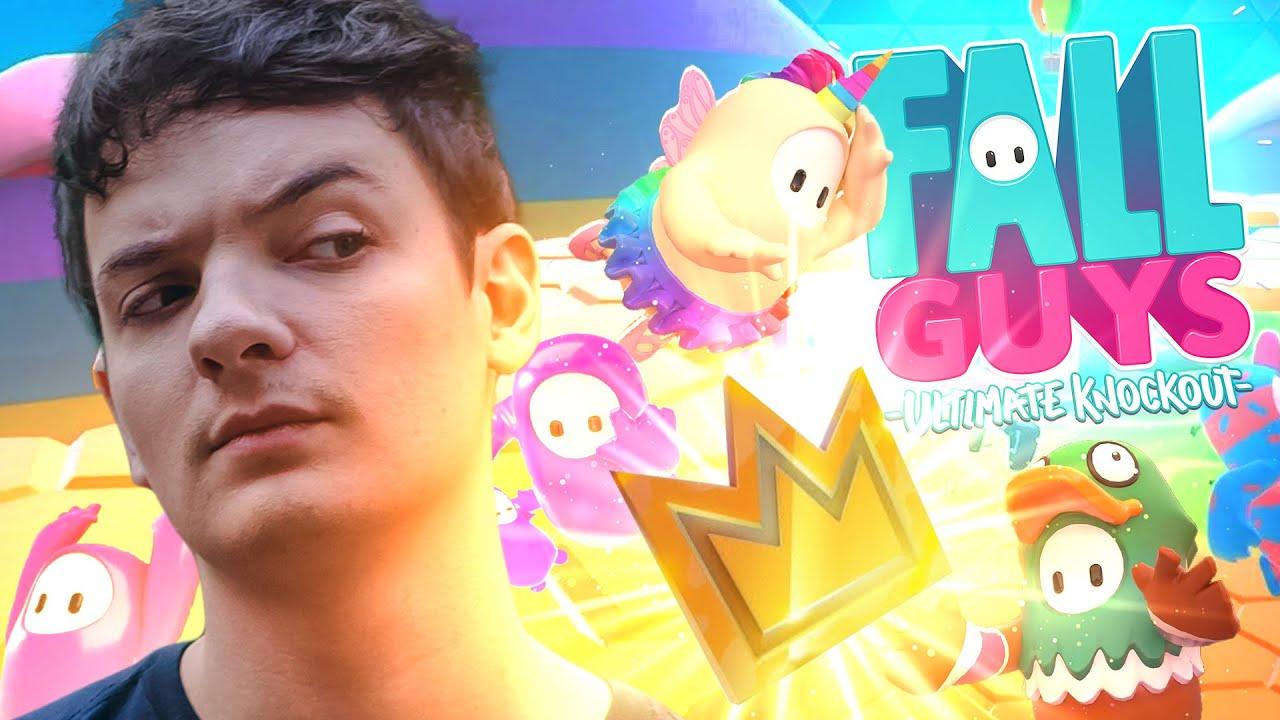 Download GANHAR NO PASSO EM FALSO? - FALL GUYS (HEXA-A-GONE)