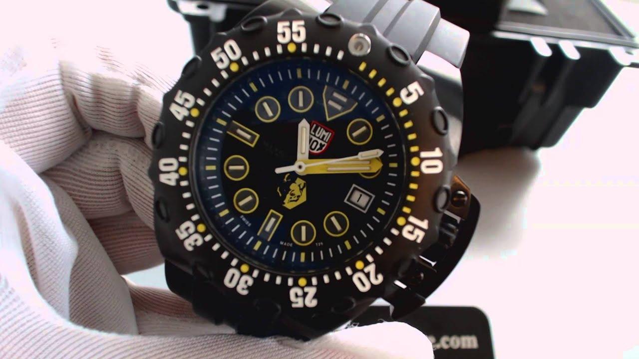 Luminox scott cassell deep dive automatic diver 39 s watch a - Luminox dive watch ...
