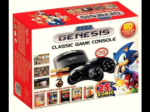 Amazon.com: Sega Classic Game Console with 80 Games [video ...