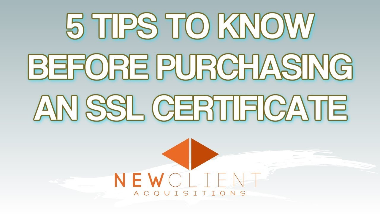 Volusion 5 Things You Should Know Before Purchasing An Ssl