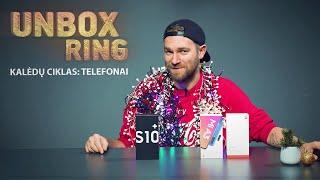 TELEFONAI 🎁  KALĖDŲ CIKLAS   Unbox Ring apžvalga