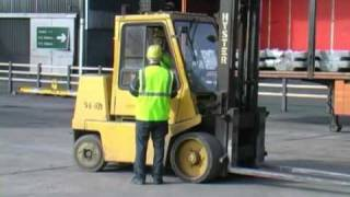 Fork Lift Truck Safety - Pt V - Fork Lift Trucks and Pedestrians