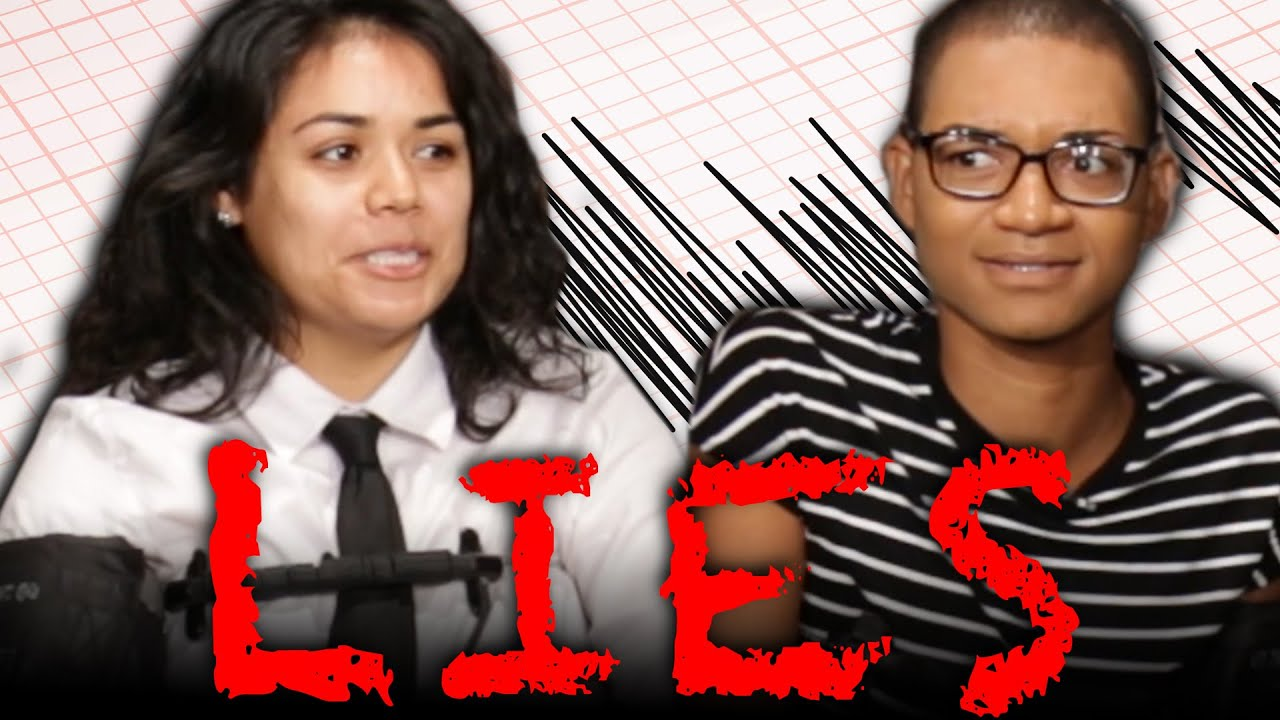 Adult Children Take A Lie Detector Test With Parents YouTube - This is what happens when kids hook up their moms to lie detector