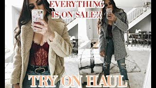 NEW YEAR, NEW WINTER HAUL 2018: EVERYTHING IS ON SALE!