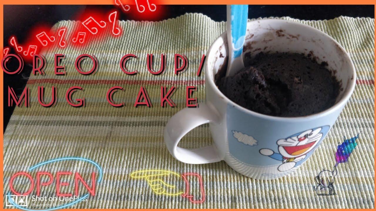 Only 2 ingredients Mug Cake   No ENO   No Baking powder ...