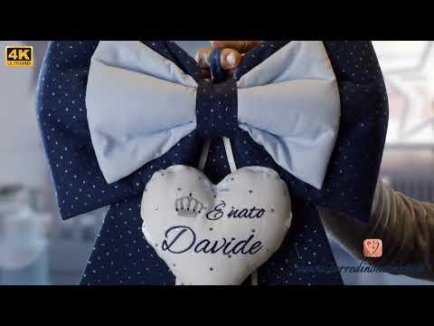 Corredino Neonato Personalizzato Per Davide - Video 4k