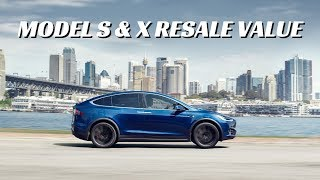 Model S and X hold their value better than competition