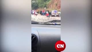 Люди останавливаются после аварии, но только, чтобы забрать деньги.