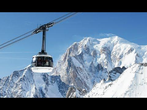 Doppelmayr Garaventa 80 Atw Skyway Monte Bianco Courmayeur Italia Italiano 2015