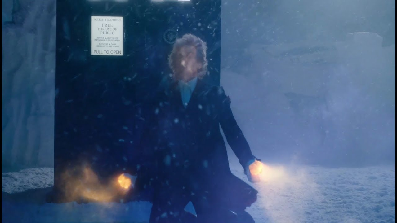doctor who the doctor starts to regenerate christmas special 2017
