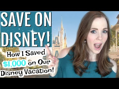 I SAVED $1,000 ON A DISNEY VACATION! | 8 Ways to Save Money on a Disney Vacation You HAVEN'T Heard!